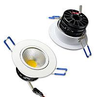Светильник встраиваемый поворотный 15 Вт, фото 1