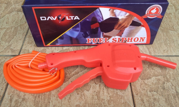 Насос для перекачки жидкости Davolta Fuel Siphon, Алматы, фото 2