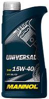 Моторное масло MANNOL Universal 15w40 1 литр