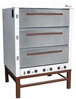 Хлебопекарная ярусная печь ХПЭ-500 (нерж.сталь).