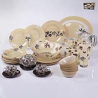 Столовый сервиз Luminarc HEVEA beige 38+7 предметов