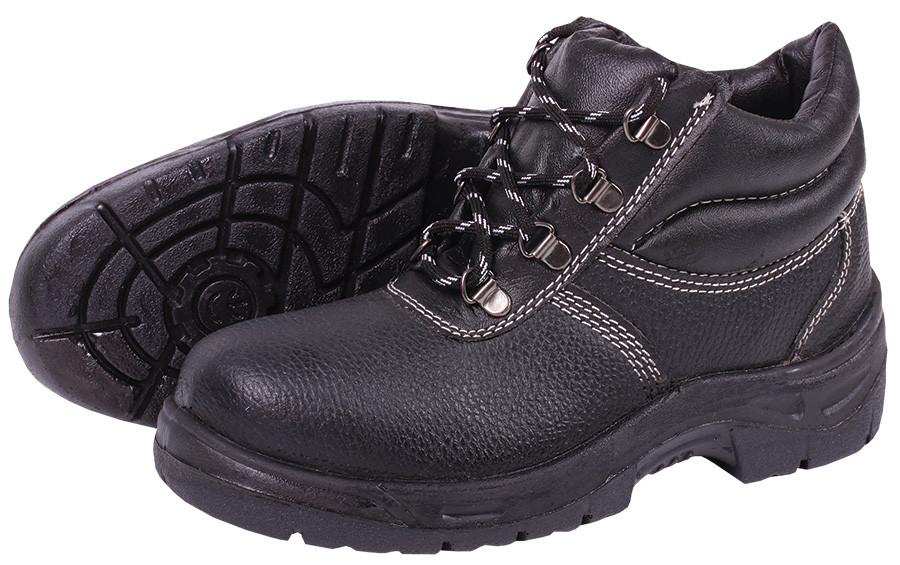 Ботинки рабочие «Эконом-2» из эко-кожи с металлическим подноском