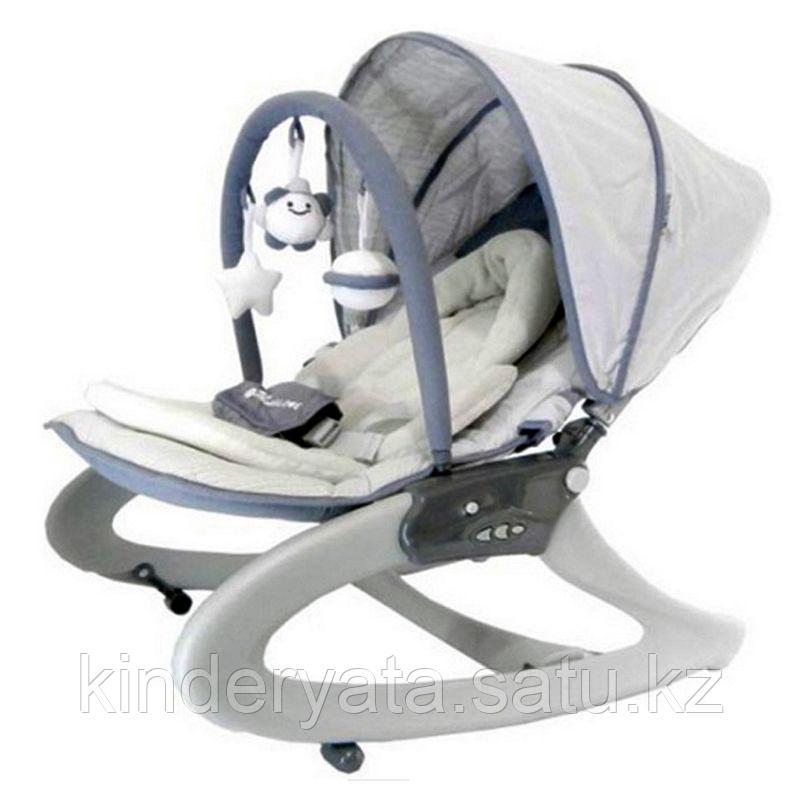 Кресло-качалка Mamalove серый