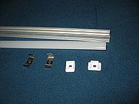Профиль алюминиевый П-типа с матовым рассеивателем 17,7 х 12,2 мм, фото 1