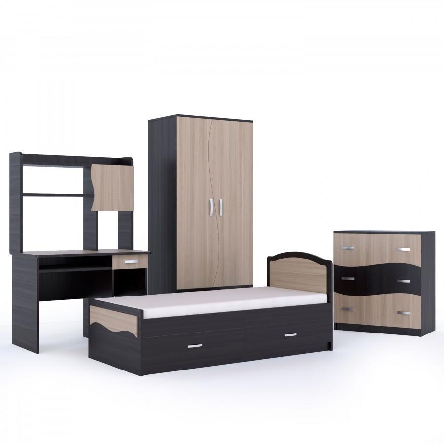 Комплект детской мебели, модель Джуниор-КУЛ
