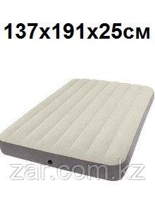 Надувной матрас Intex 64102 137х191х25см