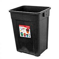 Ведро для мусора, чёрное (27 л.)