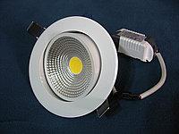 Светильник светодиодный поворотный спот встраиваемый 8W