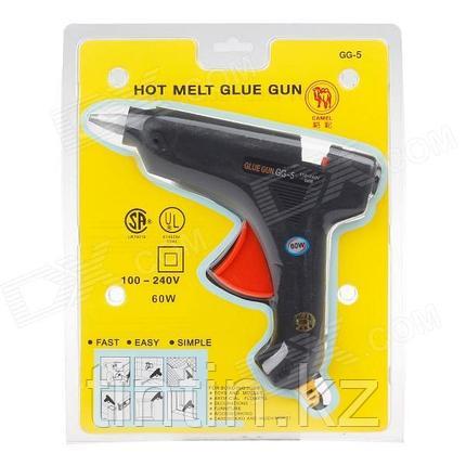 Большой клеевой пистолет под 11мм стержни 60W, Glue Gun GG-5, фото 2