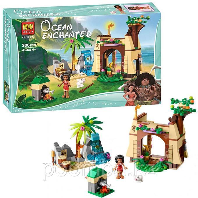 """Конструктор Disney""""Приключения Моаны на затерянном острове""""206 дет."""