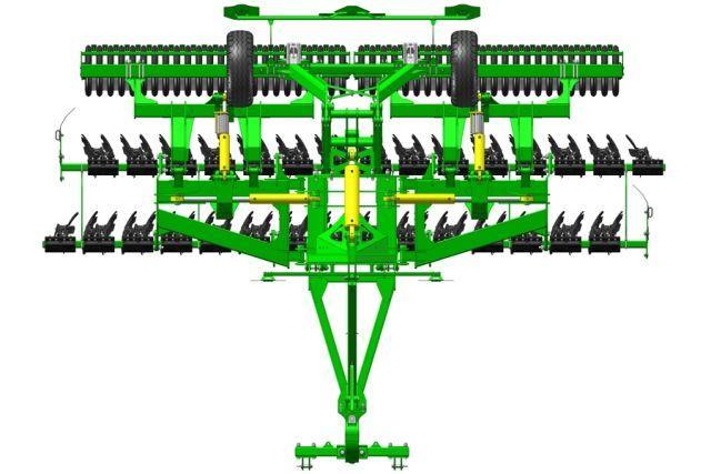 Компактная дисковая борона АГКС КРОНОС-5