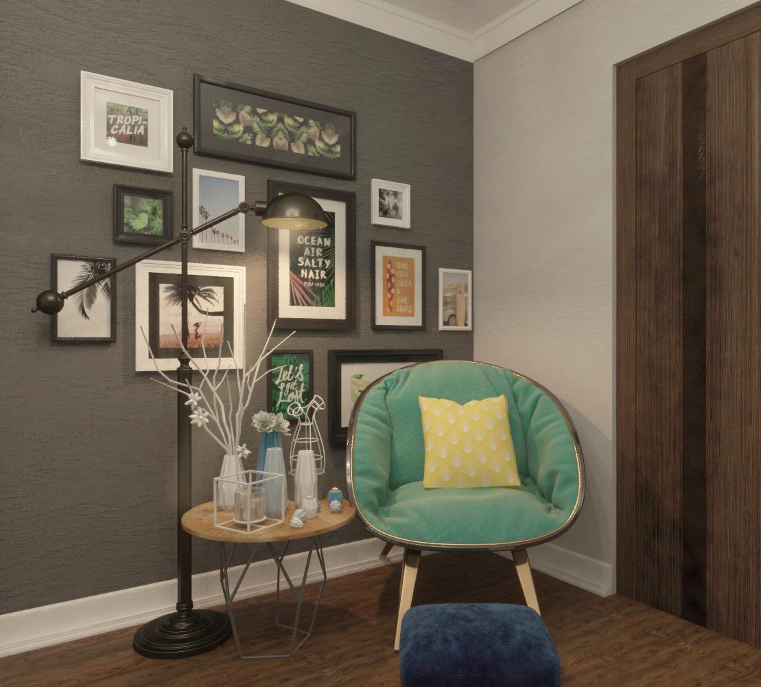 Дизайн интерьера гостиной - фото 3