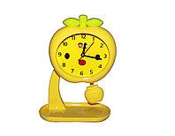 "Детский будильник ""Яблочко"", желтый"