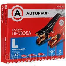 """Провода пусковые """"AUTOPROFI"""", средние нагрузки 100% ССА, 13,3мм2 мм2, 300,"""