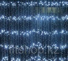Светодиодный занавес Водопад  12×3 (холодный цвет)