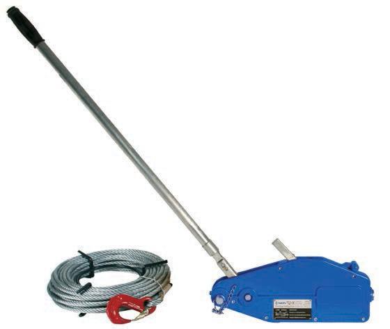 Монтажно-тяговый механизм АВТ типа «Бумажник» (алюминиевый корпус)