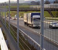 Ограждения для железных дорог и автомагистралей