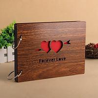 """Фотоальбом деревянный """"Forever Love"""""""