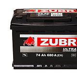 Аккумулятор ZUBR Ultra CT-60 для машин с объемом двигателя до 2,5 литра, фото 2