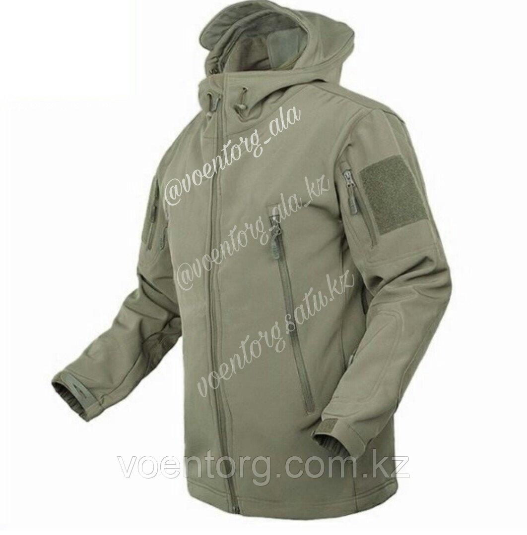 Куртка демисезонная Windstopper, олива - фото 2