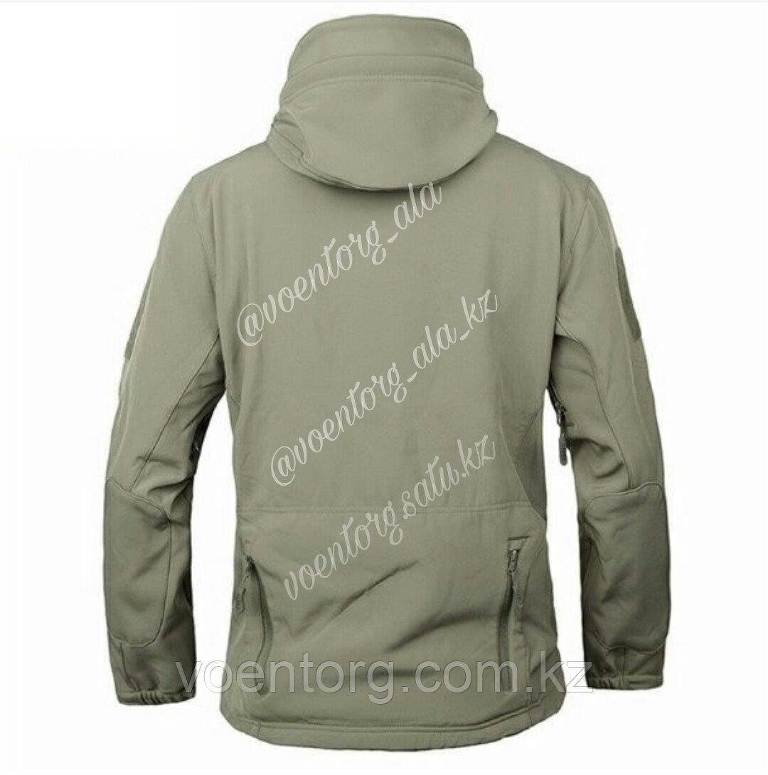 Куртка демисезонная Windstopper, олива - фото 1