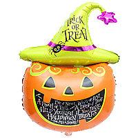 Воздушный шар Тыква (Trick or Treat) на Хэллоуин