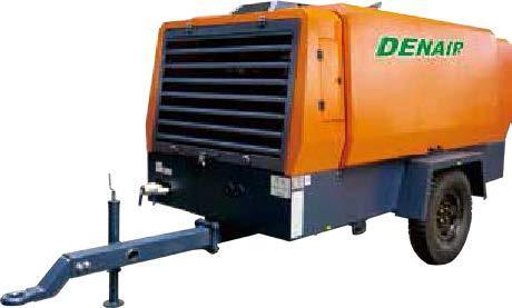 Дизельные передвижные воздушные компрессорные установки