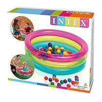Надувной бассейн с шариками Intex 48674, фото 3