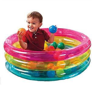 Надувной бассейн с шариками Intex 48674, фото 2