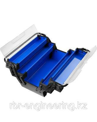 Ящик для инструмента металлический, 515х210х230 мм, ЗУБР Профессионал, фото 2