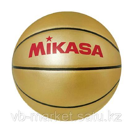 Сувенирный баскетбольный мяч MIKASA GOLD BB, фото 2