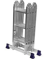 Лестница трансформер СИБИН алюминиевая, 4x3 ступени, фото 3