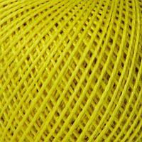 Нитки Ирис (100% хлопок,0204 лимонный)