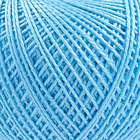 Нитки ИРИС (100%хлопок) (2706 голубой)