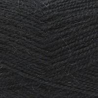 Пряжа Пехорка 'Великолепная' (30%ангора, 70%акрил) (02-Черный)