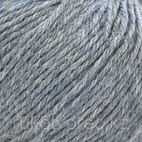 Пряжа Пехорка 'Перуанская альпака' (50%перуанская альпака, 50%мериносовая шерсть) (256-Св.джинса)