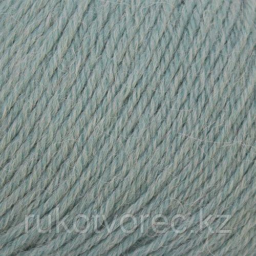 Пряжа Пехорка 'Перуанская альпака' (50%перуанская альпака, 50%мериносовая шерсть) (752-Дымчато-бирюзовый)