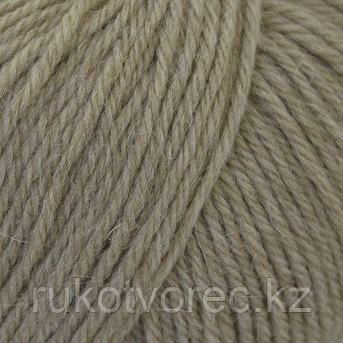Пряжа Пехорка 'Перуанская альпака' (50%перуанская альпака, 50%мериносовая шерсть) (431-Бежевый меланж)
