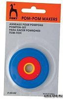60342 (60642) Устройство для изготовления помпонов, PONY