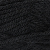 Пряжа Пехорка 'Осенняя' 200гр. 150м. (25% шерсть, 75% акрил) (02-Черный)