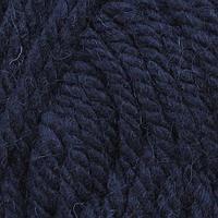 Пряжа Пехорка 'Осенняя' 200гр. 150м. (25% шерсть, 75% акрил) (04-Т.Синий)
