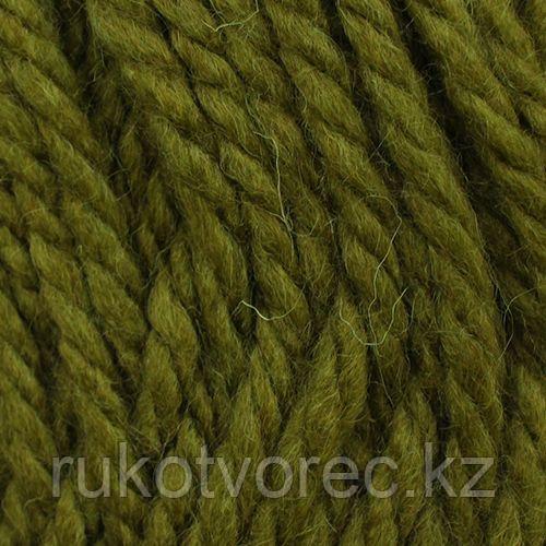 Пряжа Пехорка 'Осенняя' 200гр. 150м. (25% шерсть, 75% акрил) (448-Св.оливковый)