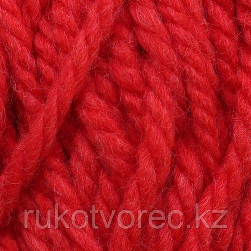 Пряжа Пехорка 'Осенняя' 200гр. 150м. (25% шерсть, 75% акрил) (88-Красный мак)