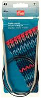211279 Спицы круговые алюминиевые с гибкой леской, 80 см*4,5 мм, Prym