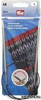 212152 Спицы круговые Prym латунь 60 см* 4,5 мм цв серебро