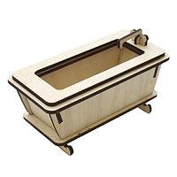 L-542 деревянная заготовка 'Ванна' 11,5*5,5*6,5см Астра
