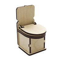 L-543 деревянная заготовка 'Туалет' 4*5*8 см Астра