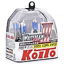 Галогенные лампы Koito Whitebeam III HB4 P0757W 4200K 12V 55W (110W), фото 2