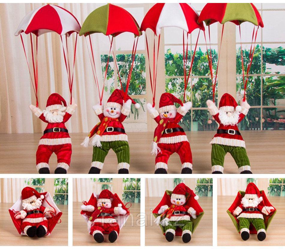 Новогодняя игрушка !Санта Клаус на парашюте!