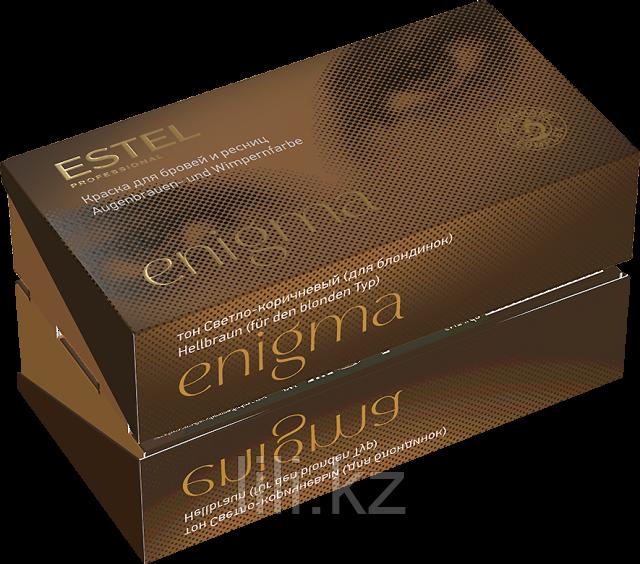 Краска для бровей и ресниц ESTEL ENIGMA 20/20 мл. (Тон светло-коричневый (для блондинок) / Арт. EN5)